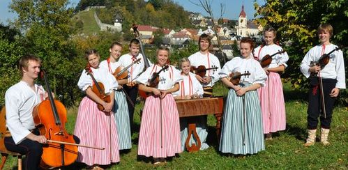 Cimbálová muzika Pramínky